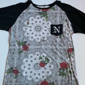 Neff Bandana print t shirt